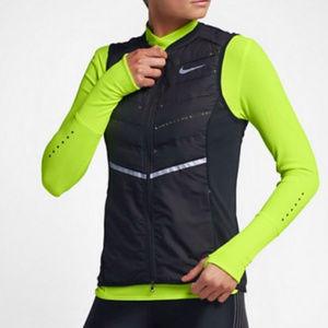 NWT Nike AeroLoft women's Running Down Vest Sz M